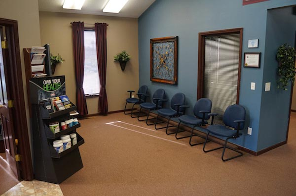 Chiropractic Glen Carbon IL Waiting Room